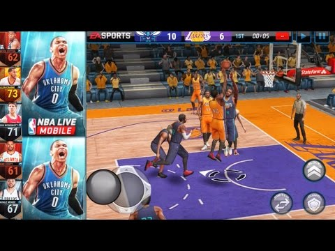 NBA Live Mobile 16 Gameplay - UPDATED LINEUP & COMPLETING SETS Ep. 2
