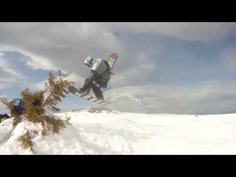 Vitosha Mountain Snowkite