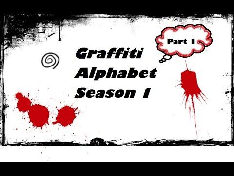 KAKO CRTATI GRAFITE ( HOW TO DRAW GRAFFITI ) Part 1 / 5