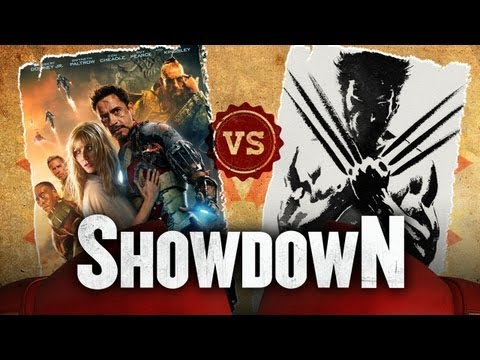 Iron Man 3 vs. The Wolverine - Which Superhero Was Better This Summer? Showdown HD