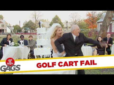 Throwback Thursday: Golf Cart Wedding Disaster