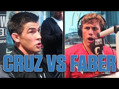 UFC 199 Dominick Cruz + Urijah Faber S**t Talk Face To Face On Air