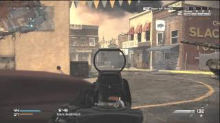 Call Of Duty Ghost Red Dot Sight Attachment Gameplay