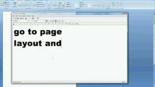 Microsoft Word 2007 Tutorial(How To Get A Border)