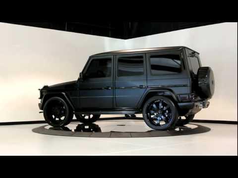 Mercedes g wagon matte black for All black mercedes benz g wagon