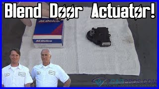 Blend Door Actuator Replacement 1999-2007 Chevrolet Silverado