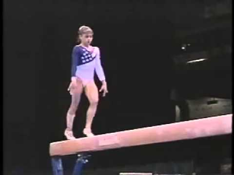 DominiqueMoceanu - 1996 Olympics Team Optionals - Balance Beam