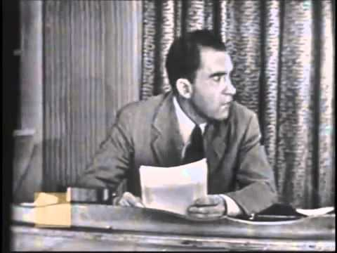 Richard Nixon-Checkers Speech (9/23/1952)