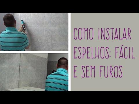 MULTIFIX FIXA ESPELHO - Instalação de espelho
