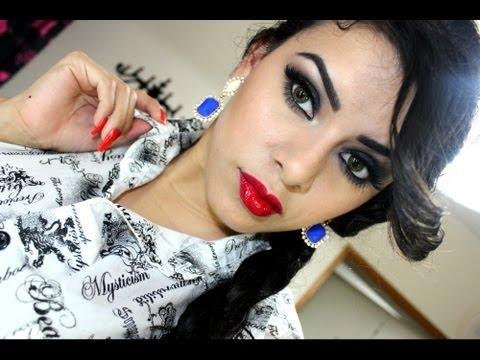 Maquillaje Elegante para Noche por Jeamileth Doll