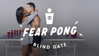 Blind Dates Play Fear Pong (Ella vs. Carlos) | Fear Pong | Cut