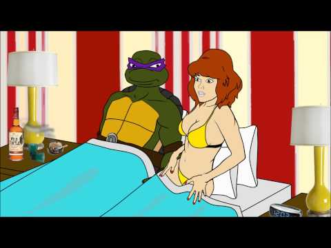 Cartoon Hook-Ups: April & Donatello
