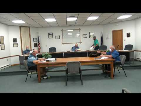 Rouses Point Village Board Meeting 9-8-20