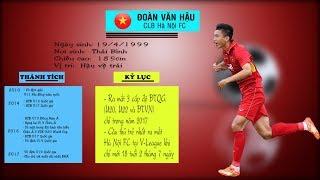 Những khoảnh khắc đưa Đoàn Văn Hậu trở thành cầu thủ trẻ xuất sắc nhất Đông Nam Á