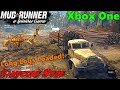 SpinTires Mud Runner: Xbox One HARDCORE MODE Let's Play! LONG LOG TRAILER LOADED!!