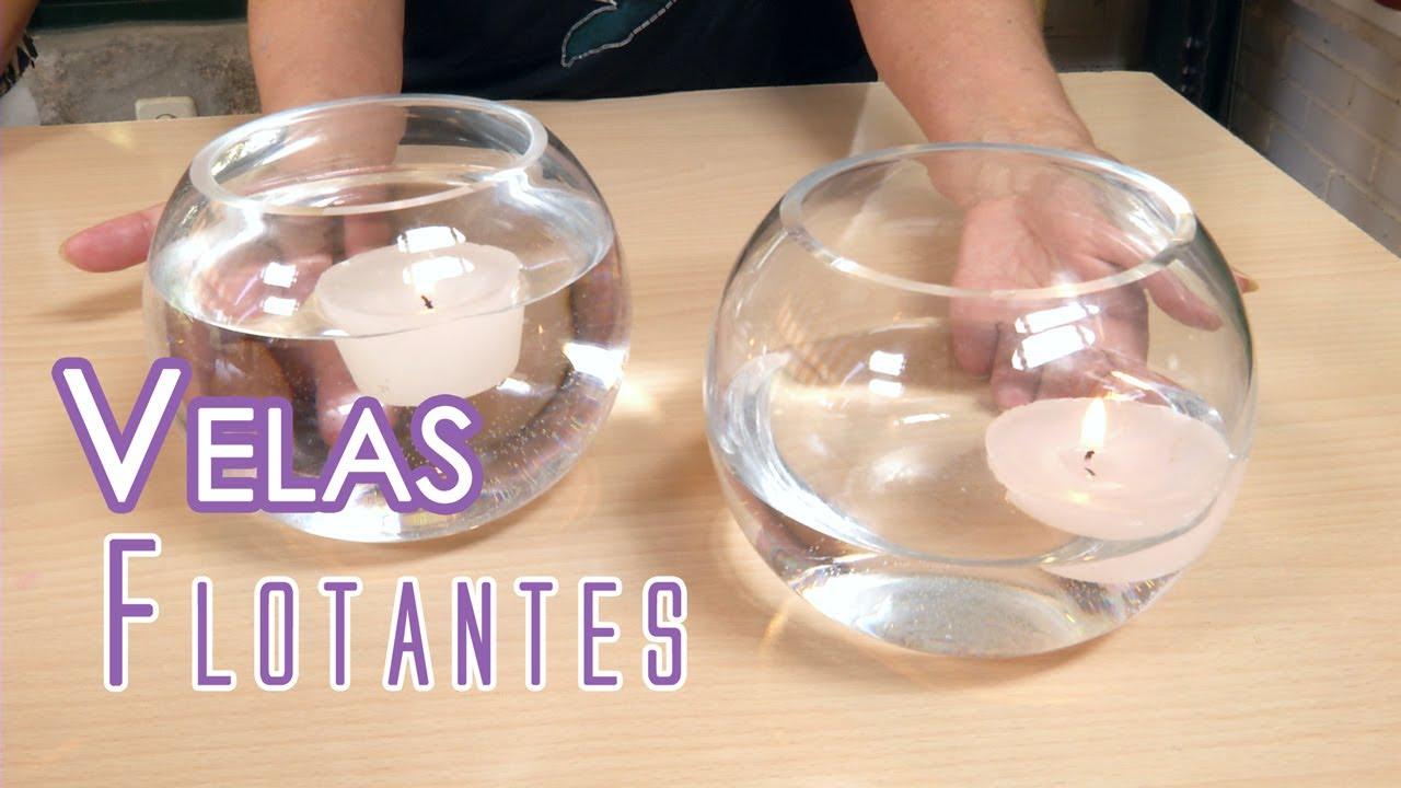Como hacer velas flotantes youtube - Velas de agua ...