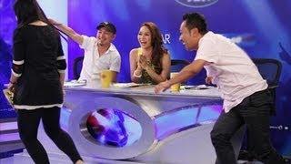 Scandal Dũng khùng rượt thí sinh nữ ...!! VietNam idol view on youtube.com tube online.