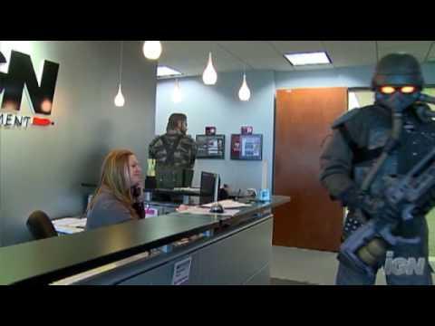 Хелгаст посетил офис IGN