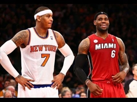 Carmelo Anthony to the  Heat ? To Join Lebron james ? I hope Not !
