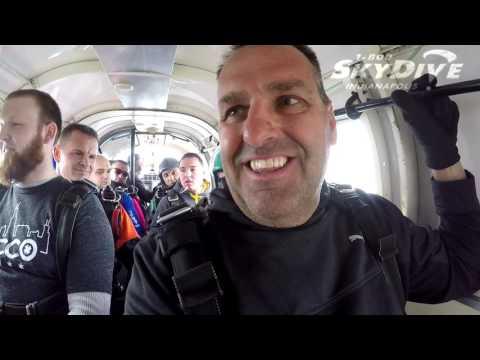 Danny Morgan's Tandem skydive!