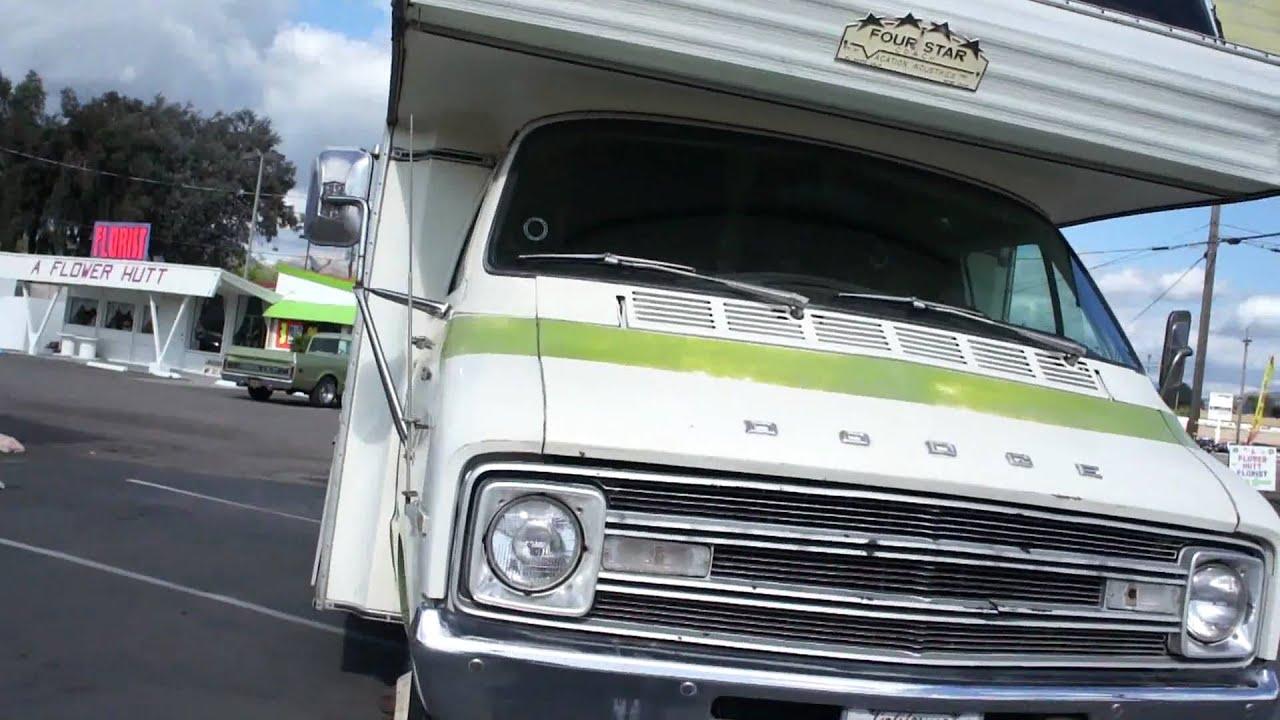 Dodge Camper Minnie Winnie RV 360 Sportsman $999 - YouTube
