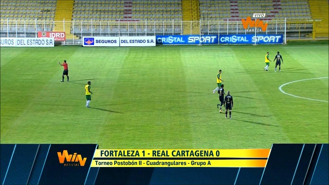 Fortaleza F.C 1-0 Real Cartagena