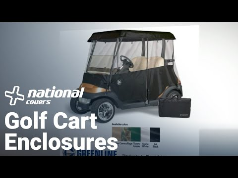 Golf Cart Enclosure Covers Reviews Greenline golf Cart Covers Manufact