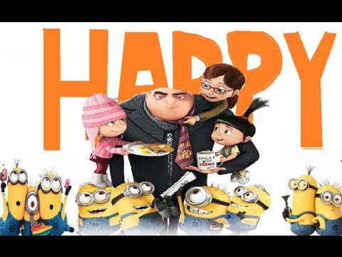 minions happy song pharrell happy pharrell williams