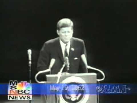 President Kennedy, JFK Comments on Marilyn Monroe's Happy Birthday