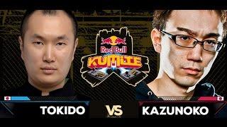 Red Bull Kumite 2016 : Kazunoko vs. Tokido - Losers Final