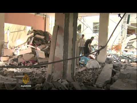 Israeli airstrikes hit Gaza medical centre for disabled