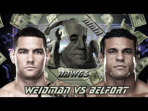 UFC 173: Chris Weidman vs Vitor Belfort Predictions