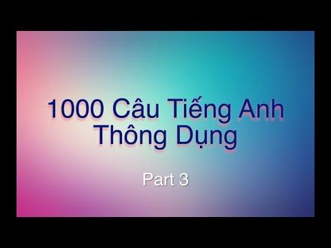 1000 Câu Tiếng Anh Mỹ Thông Dụng Hằng Ngày - Phần 3