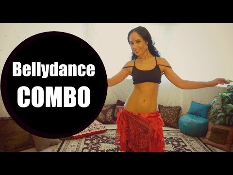 New belly dance combination: the side pyramid
