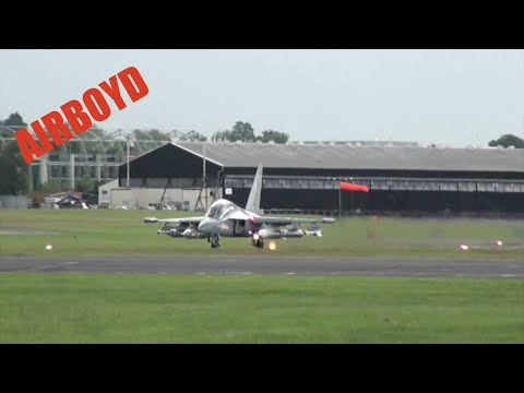 Yak-130 Farnborough 2012 (Wednesday)