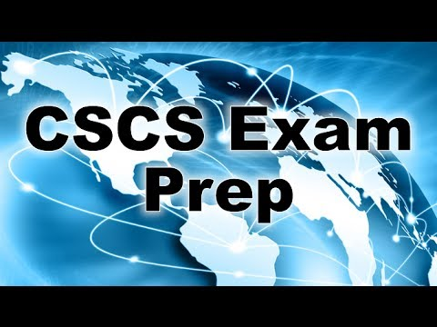 CSCS Study Questions - Study questions and topic overviews ...