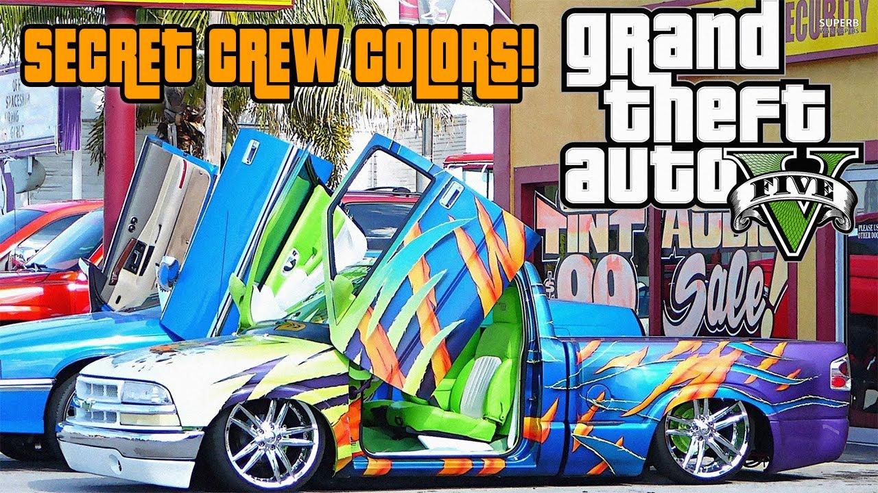 Crew Chrome Color Gta  Online