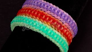 How To Make A Rocket Fishtail EASY 2 Step Rainbow Loom