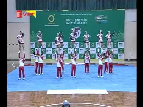 Cheerleading ĐH Kiến trúc ĐN - 5/1/2013