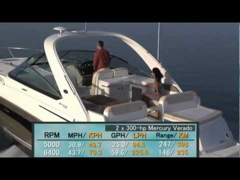 Sea Ray 370 Venture Test 2013- By BoatTest.com