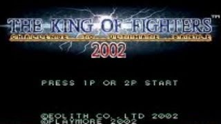 The King Of Fighters 2002 Jogo Completo Com O Trio
