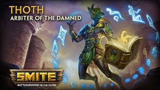 Smite - God Reveal: Thoth, Arbiter of the Damned