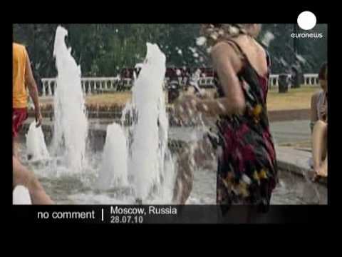 Russia: Heat wave in Moscow - no comment