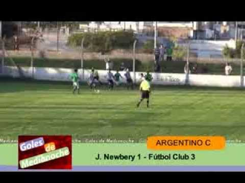 J. Newbery (Junin) 1 - F.C. (Tres Algarrobos) 3