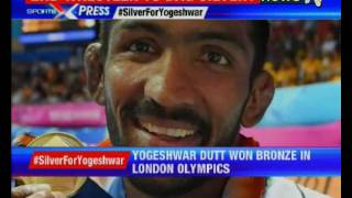 Yogeshwar Dutt to get silver medal for London Olympics as ..