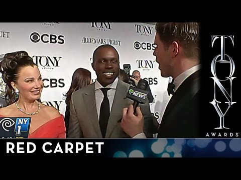 2014 Tony Awards: Fran Drescher and Joshua Henry on the Audemars Piguet Red Carpet
