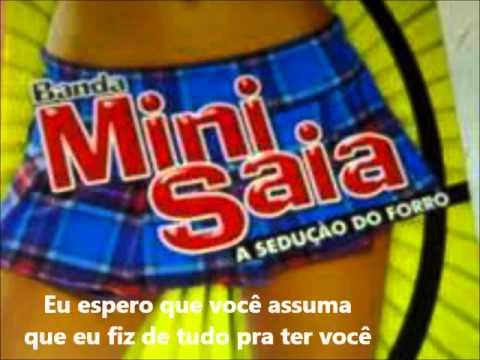 Banda Mini Saia a Sedução do Forró   Um Beijo e Tchau