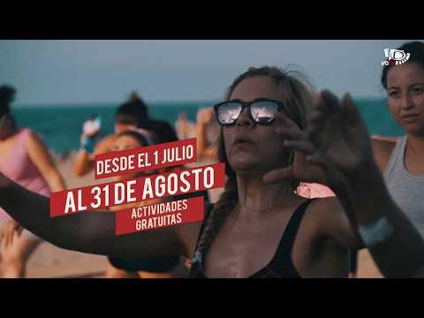 Actividades gratuitas en la playa