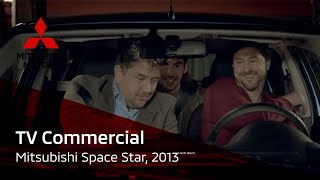Mitsubishi Space Star TV commercial 2013