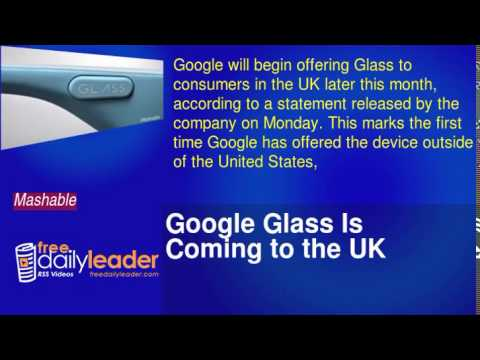 Google Glass Is Coming to the UK